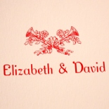 Thank you from Elizabeth and David