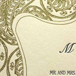 Park Avenue: wedding invitations exclusively from PostScript Brooklyn