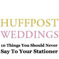 HuffPost Weddings, April 20, 2012