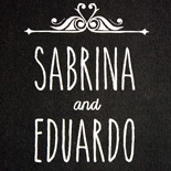 Sabrina and Eduardo: custom hand caligraphed