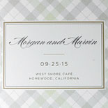 Morgan and Marvin: Menu