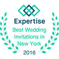 Expertise, Best Wedding Invitations in New York, October 2016