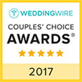 Wedding Wire 2017 Couples' Choice Award