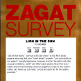 Zagat Survey 2009
